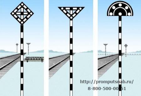 железнодорожные знаки описание