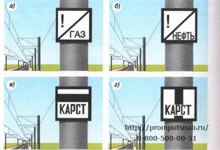 знаки безопасности на железнодорожном транспорте